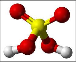 Mô hình phân tử H2SO4